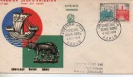 1958   FDC S  JUMELAGE PARIS ROME    N° YVERT ET TELLIER    1176 - 1950-1959