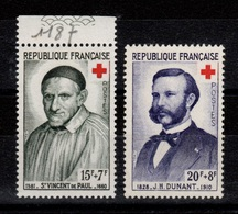 Croix Rouge YV 1187/1188 N** Cote 3,60 Euros - Unused Stamps