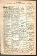 ANNUAIRE - 20 - Département Corse - Année 1889 - édition Didot-Bottin - 11 Pages - Telephone Directories