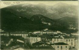 LAGONEGRO ( POTENZA ) VIA NAPOLI E MONTE SIRINO - FOTO COZZO / EDIZ. A. BRIGANTE - SPEDITA -1930s (BG5638) - Potenza