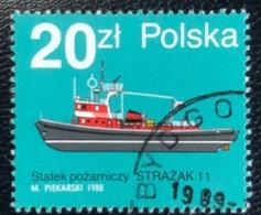 Polska - Poland - P2/61 - (°)used - 1988 - Michel Nr. 3188 - Schepen - Ships