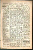 ANNUAIRE - 31 - Département Haute Garonne - Année 1889 - édition Didot-Bottin - 28 Pages - Telephone Directories