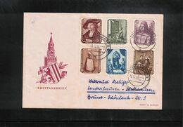 Germany / Deutschland DDR 1955 Gemaelde Interessanten Brief - Briefe U. Dokumente