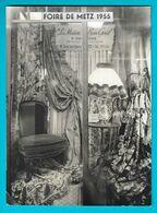 METZ Photo Foire De Metz De 1955- La Maison Du Bon Goût Tapissier Décorateur Rue Des Clercs - Lieux