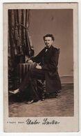 CDV Photo Originale XIXème Homme Nommé Par Raps Coeln Germany Cdv2974 - Antiche (ante 1900)