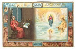AC1028 - DANTE - ILLUSTRATION Divina Commedia - Paradiso - Sborgi - Visione Di San Bernardo - Other Illustrators