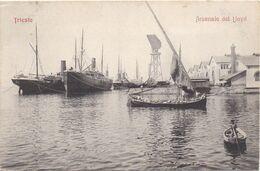 TRIESTE - 1910-1920 - Arsenale Del Lloyd - Trieste (Triest)
