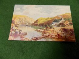 VINTAGE UK WALES: On The Pembroke Coast Art Wimbush Ltd 1907 Tuck Oilette - Pembrokeshire
