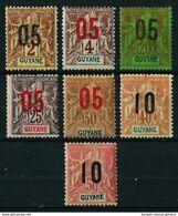 Guayana (Francesa) Nº 66/72 Nuevo* - Neufs