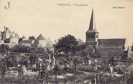 Verneuil Vue Générale, Chateau, église, Cimetière - Autres Communes