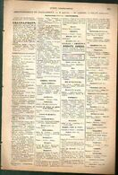ANNUAIRE - 36 - Département Indre - Année 1889 - édition Didot-Bottin - 16 Pages - Telephone Directories