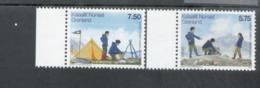CEPT Pfadfinder Grönland 480 - 481 Neuf MNH ** Postfrisch - Europa-CEPT