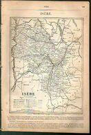 ANNUAIRE - 38 - Département Isère - Année 1889 - édition Didot-Bottin - 36 Pages - Telephone Directories