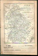ANNUAIRE - 39 - Département Jura - Année 1889 - édition Didot-Bottin - 24 Pages - Telephone Directories