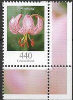 2014  Deutschland Allem. Fed.Mi. 3118  **MNH EUR  Blumen Türkenbundlilie (Lilium Mortagon) - Ongebruikt