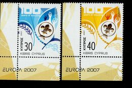 CEPT Pfadfinder Zypern 1096 - 1097 Neuf MNH ** Postfrisch - Europa-CEPT