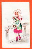 Vaf116 Rare Chromo Relief Habits Soie FILLETTE CHAPERON Rose Bord De MER Chocolat POULAIN Goutez Comparez 1900s Gaufrée - Poulain