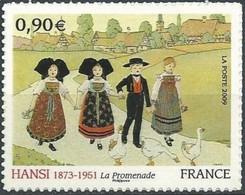 """FR Adhesif YT 370 (4400)  """" Peinture Hansi """" 2009 Neuf** - Adhesive Stamps"""