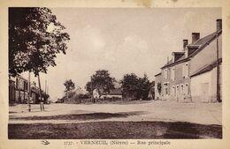 Verneuil Rue Principale - Autres Communes