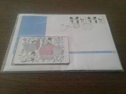 Netherlands - Nice Telebrief Phonecard In Stamp Enveloppe - Pays-Bas