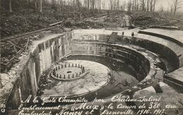 CPA 14-18 A La Gaité Champêtre Par Château-Salins, Emplacement Du Canon De 380 Visant Nancy Et Lunéville (A224, Ww1) - Weltkrieg 1914-18