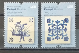 Portugal 2010 - MNH As Scan - Tiles - Joint With Romania  - 2 Stamps - Unused Stamps