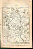 ANNUAIRE - 46 - Département Lot - Année 1889 - édition Didot-Bottin - 13 Pages - Telephone Directories