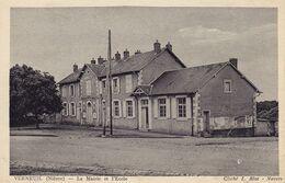 Verneuil La Mairie Et L'école - Autres Communes