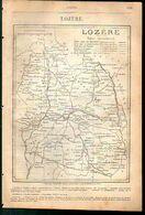 ANNUAIRE - 48 - Département Lozère - Année 1889 - édition Didot-Bottin - 08 Pages - Telephone Directories