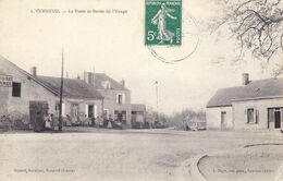 Verneuil La Poste Et Route De L'Usage - Autres Communes