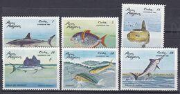 Kuba Cuba 1981 - Mi.Nr. 2534 - 2539 - Postfrisch MNH - Tiere Animals Fische Fishes - Fishes