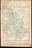 ANNUAIRE - 52 - Département Haute Marne - Année 1889 - édition Didot-Bottin - 11 Pages - Telephone Directories