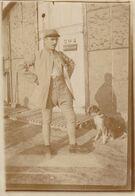Photo Octobre 1914 Le Soldat Baillaud Au Front Près Verdun Avec Un Chien (A224, Ww1, Wk 1) - Guerra 1914-18