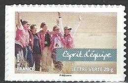 "FR Adhesif YT 807A "" Esprit D'équipe "" 2013 Neuf - Luchtpost"
