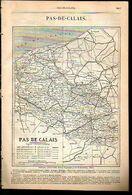 ANNUAIRE - 62 - Département Pas De Calais - Année 1889 - édition Didot-Bottin - 51 Pages - Telephone Directories
