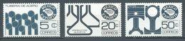 Mexique YT N°825A-825B-825D Exportations Neuf ** - Mexique