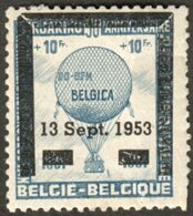 "Belgie Belgique 1953 "" Exposition Tentoonstelling BELGICA 13.9.1953 "" Vignette Cinderella Reklamemarke - Erinnofilia"