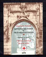 France Carnet Croix-Rouge 1970 YT N° 2019A (inscription 27 Mm) Neuf ** MNH. TB. A Saisir! - Rode Kruis
