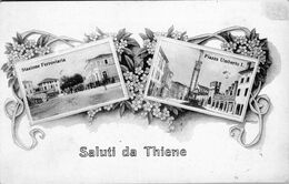 Carte 1915 SALUTI DA THIENE - Andere Steden