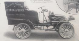 1908 LES AUTOMOBILES POSTALES - VERNON À GISORS - POSTE EN BULGARIE - PÉKIN = PARIS - Books, Magazines, Comics