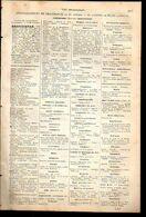 ANNUAIRE - 83 - Département Var - Année 1889 - édition Didot-Bottin - 16 Pages - Telephone Directories