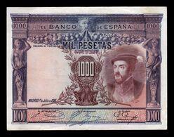 España Spain 1000 Pesetas Carlos I 1925 Pick 70c MBC VF - [ 1] …-1931 : Prime Banconote (Banco De España)