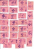 CASSEL NORD 59 - Lot De 28 Bons De 1 Point COEUR VAILLANT De CASSEL - Ohne Zuordnung