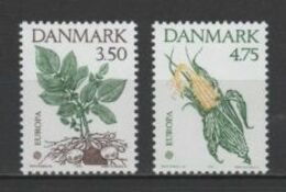 (S0102) DENMARK, 1992 (Europa Issue. Discovery Of America). Complete Set. Mi ## 1025-1026. MNH** - Nuovi