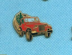 Rare Pins Auto Voiture Jeep Texan Arthus Bertrand Z162 - Arthus Bertrand