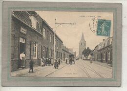 CPA - (59) LEERS - Aspect De L'Estaminet Dans Le Rue De L'Eglise En 1911 - Frankreich