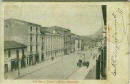 AVELLINO - CORSO VITTORIO EMANUELE - EDIZIONE ALTEROCCA - SPEDITA - 1900s (BG5651) - Avellino