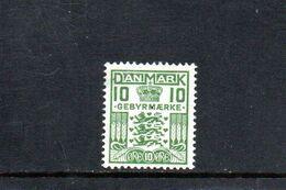 DANEMARK 1926-31 * - Segnatasse