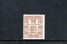 DANEMARK 1926-31 ** - Segnatasse