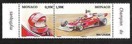 Monaco 2020 - Yv N° 3229 & 3230 ** - Niki Lauda - Monaco